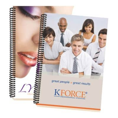 4-Color Process Eco Spiral Notebook