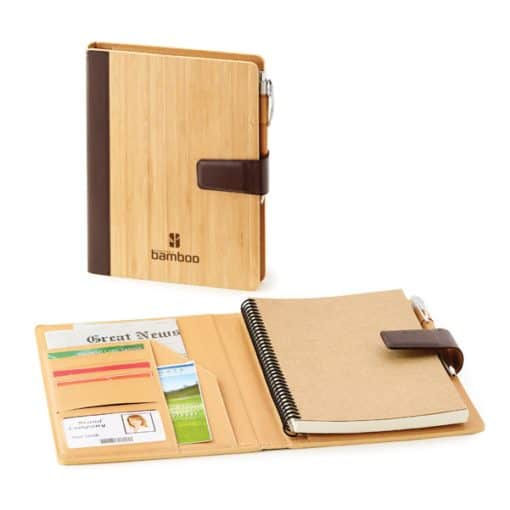 Bamboo Refillable Journal