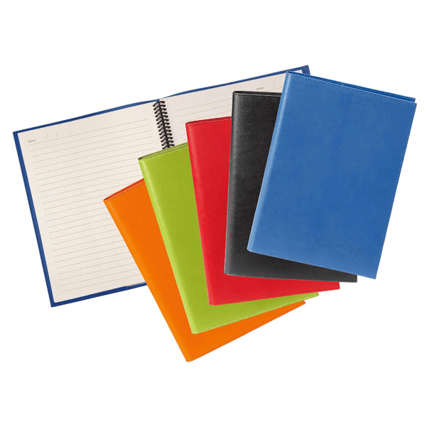 Colorplay Leather Cover & Refillable Journal   Spector Gifts