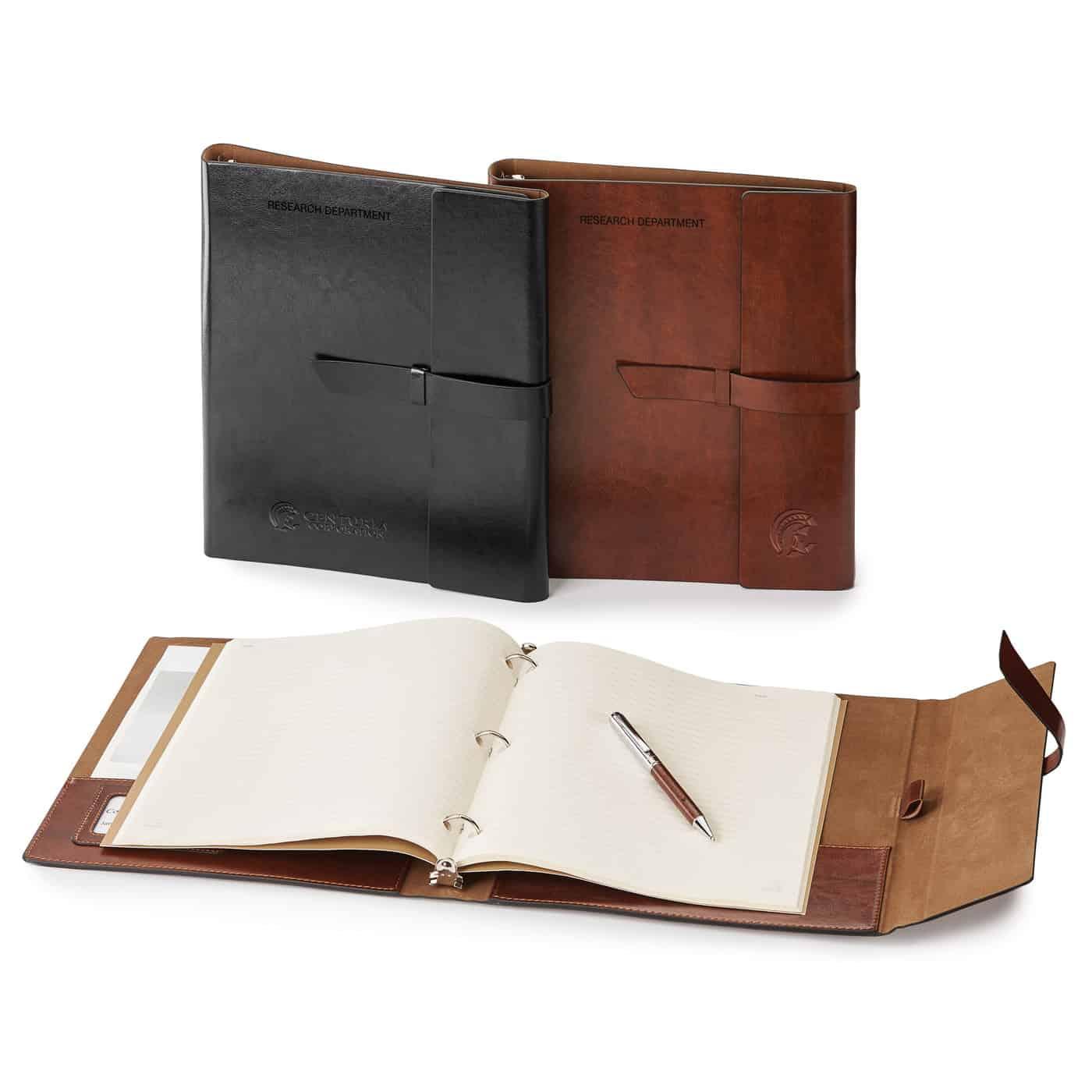 Fabrizio Refillable Portfolio/Eco 3-Hole Notebook/3-Ring