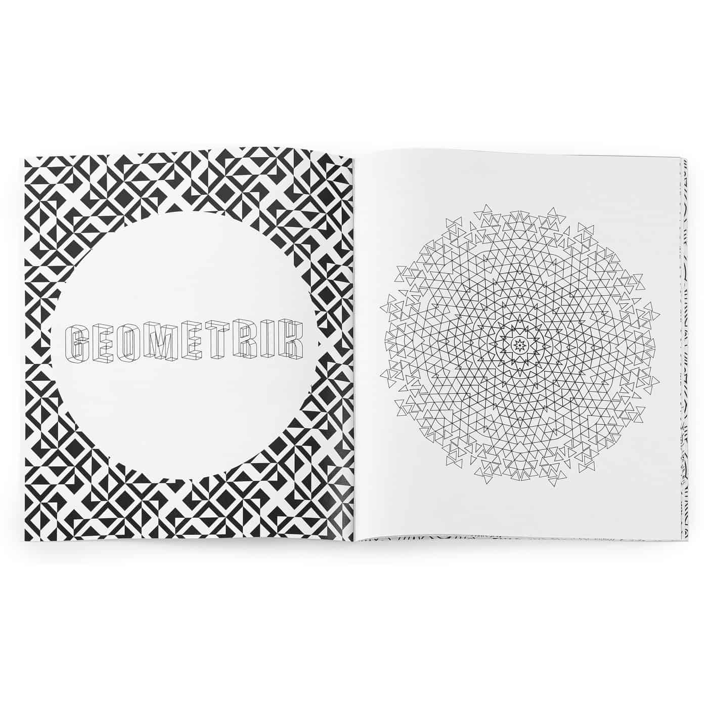 Zen Anti Stress Coloring Book Combo