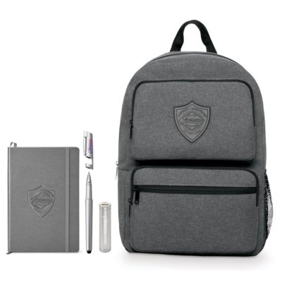 Business Smart Neoskin Dual Pocket Backpack Bundle