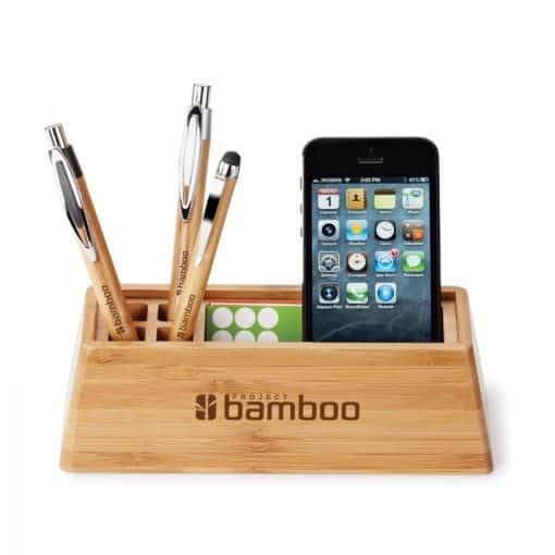 Bamboo Desktop Organizer