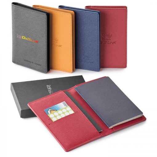 Genuine Leather Rfid Booklet/ Passport Holder