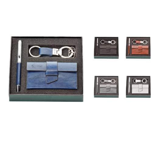 Key Ring & Card Holder Gift Set