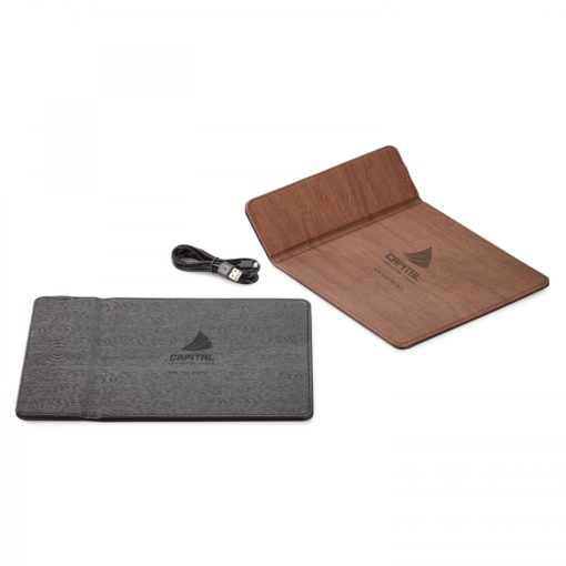 Ronan Wireless Charger Mouse Pad