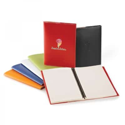 Vinyl Cover &Refillable Spiral Notebook