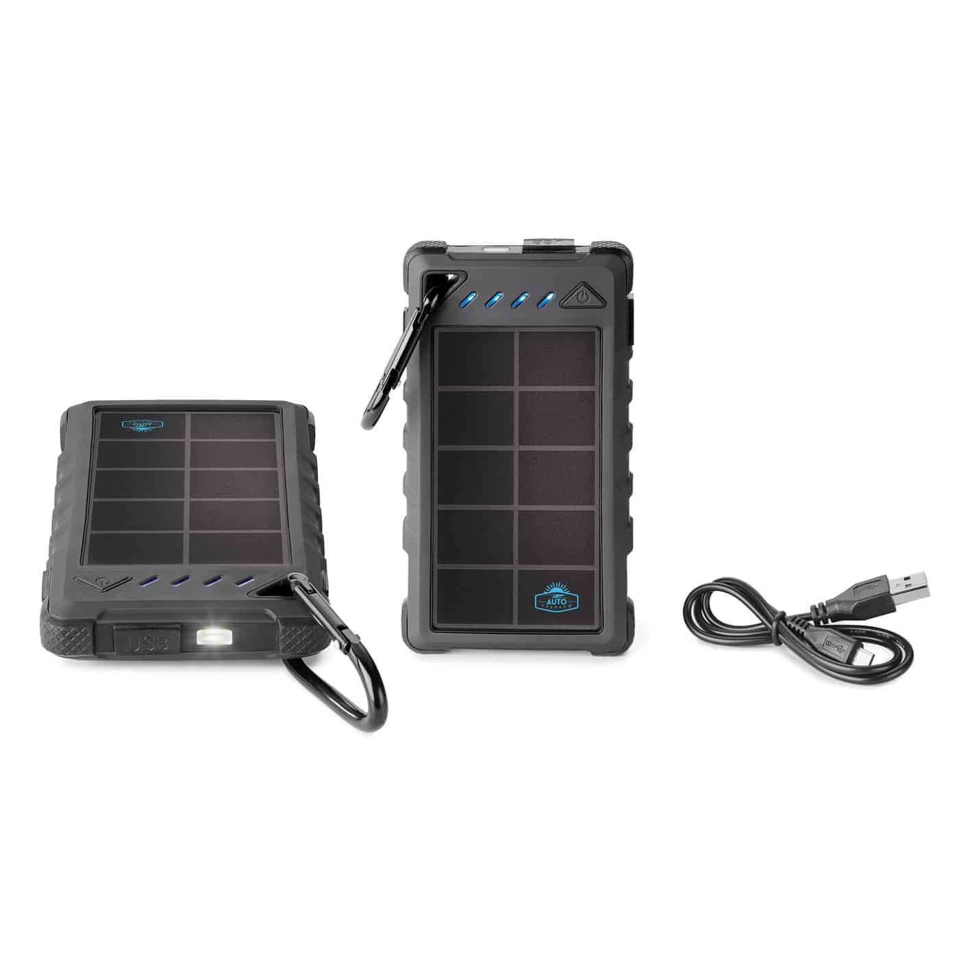 8000 Mah Solar Power Bank Includes Ul Certified Battery Spector Gifts