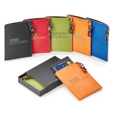 Donald Rfid Memo Pad/Card Holder