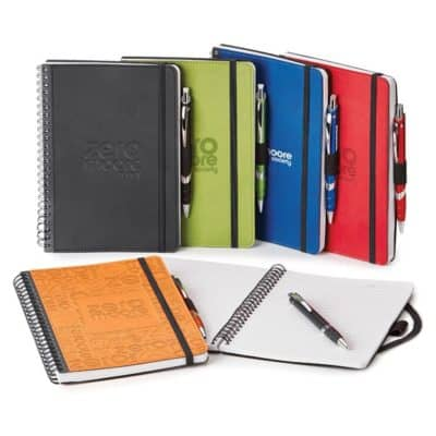 Donald Spiral Bound Journal Combo (Polypro)