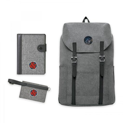 Nomad Must Haves Flip-Top Backpack Travel Bundle