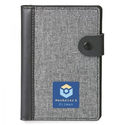 Nomad Rfid Passport Holder With Memo Pad