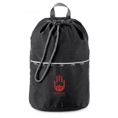 Athleisure Drawstring Backpack