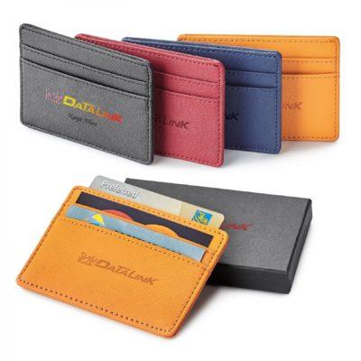 Genuine Leather Rfid Card Holder