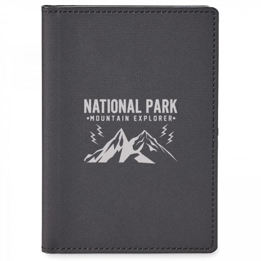 Wild Rfid Passport Holder With Memo Booklet