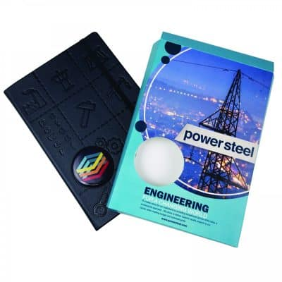 Hard Cover Notebook Wrap