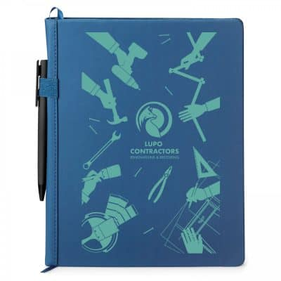 Boston Hard Cover Journal/Pen Combo