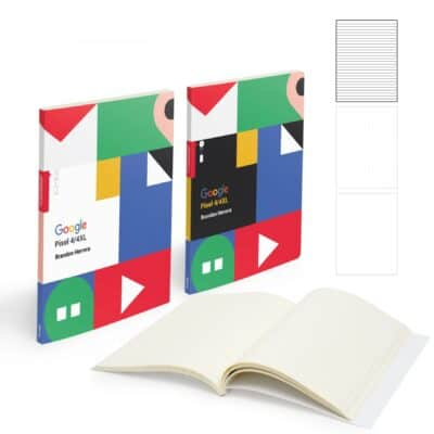 "Mighty Perfect Bound Notebook (7"" X 9"" With 150 Pages)"